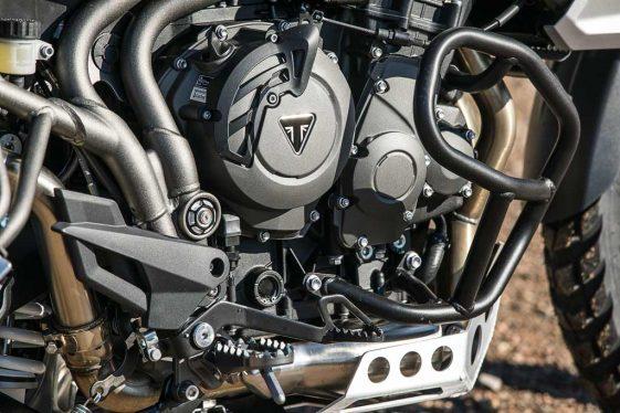 Triumph Tiger 800 xc engine