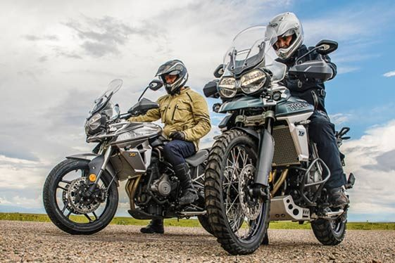 Triumph Tiger 800 xc and xr