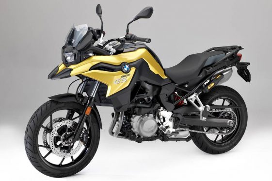 BMW F750GS Adventure Motorcycle