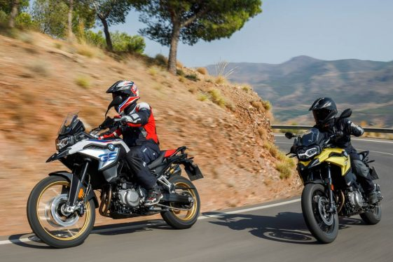 BMW F850GS and F750GS adventure motorcycle