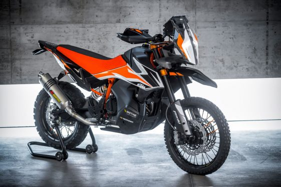 KTM 790 Adventure R Prototype unveiled at EICMA