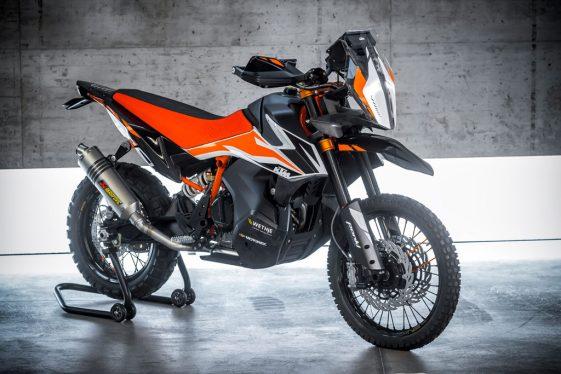 KTM 790 Adventure R Prototype unveiled at EICMA
