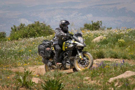 Suzuki V-Strom 1000XT Adventure Motorcycle offroad