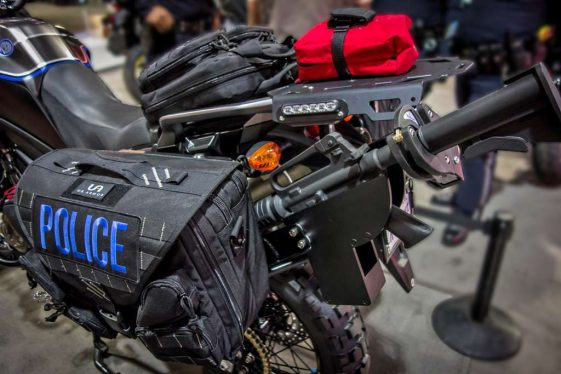 Honda Africa Twin Police Bike Build