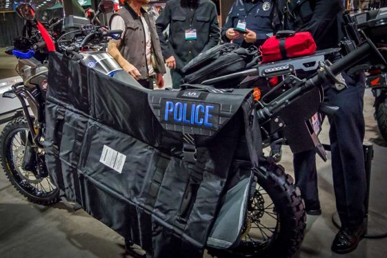 RBPD Africa Twin Police Bike