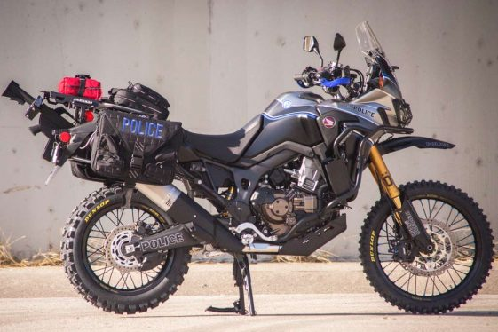 Roland Sands Design Honda Africa Twin Police Bike