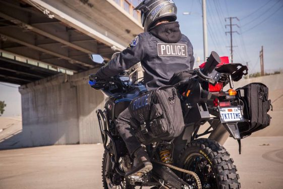 Honda Africa Twin Police Build