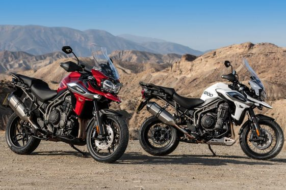 Triumph Tiger 1200 XC and XR