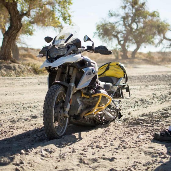 How to Ride Sand on an Adventure Motorcycle