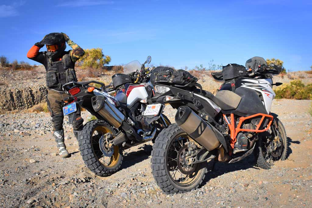 Los Angeles Barstow to Vegas on Big Bikes