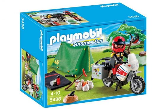 Playmobil Biker Camp Site Playset