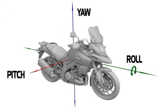 Suzuki V-Strom 1000XT BOSCH Inertial Measurement Unit