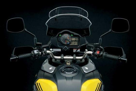 Suzuki V-Strom 1000XT dual sport motorcycle