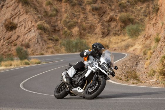 Triumph Tiger 1200 Review Adventure Bike touring