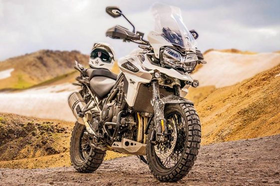 Triumph 2018 Tiger 1200 XCa Offroad Adventure Bike