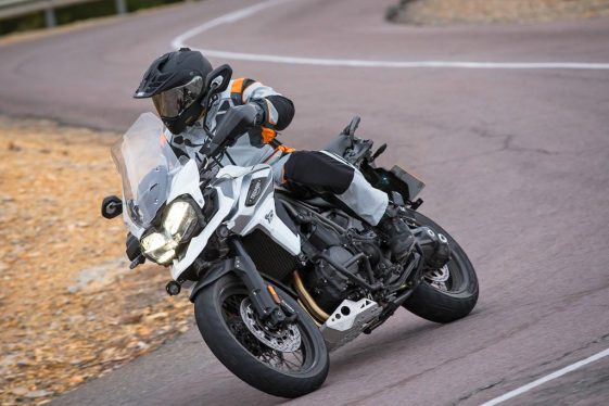 Triumph Tiger 1200 Twisty Roads Adventure Bike