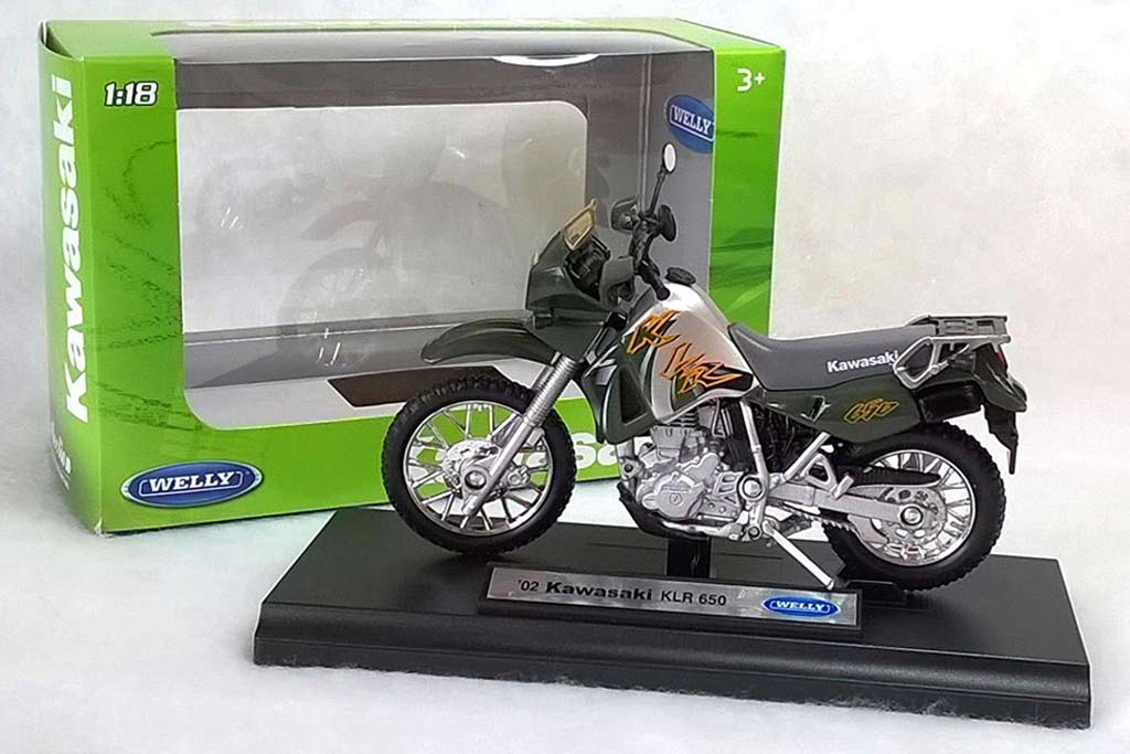 Kawasaki KLR650 Die Cast Model