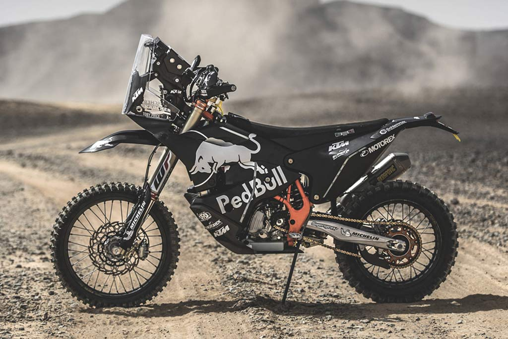 Closer Look: KTM's All-New 450 Rally Machine Racing in The Dakar