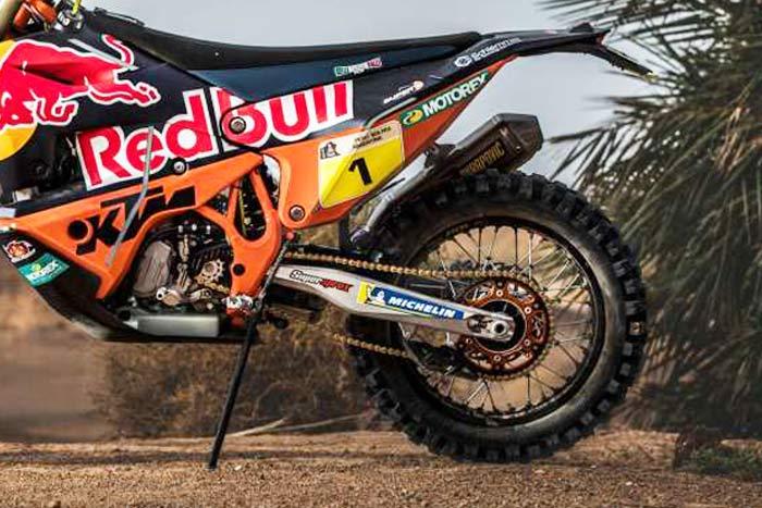 Closer Look: KTM's All-New 450 Rally Machine Racing in The Dakar