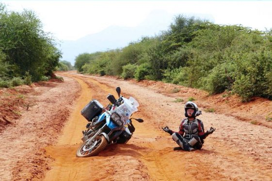 Asta and Linas round-the-world journey Adventure Motorcycle Riders