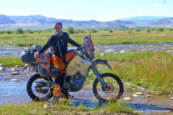 round-the-world journey on a Motorcycle