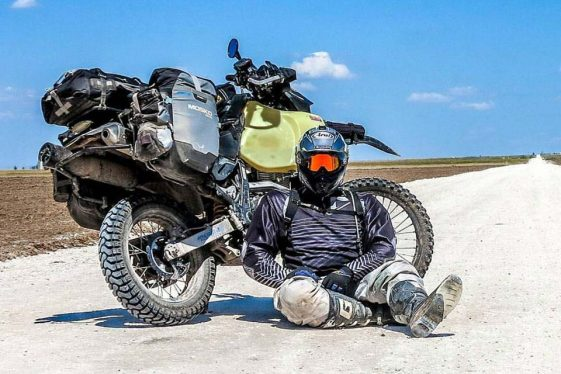 Paul Stewart round-the-world journey Adventure Motorcycle Rider