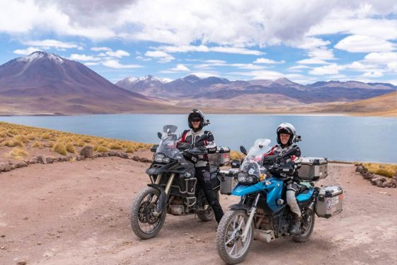 Asta and Linas RTW Adventure Motorcycle Riders