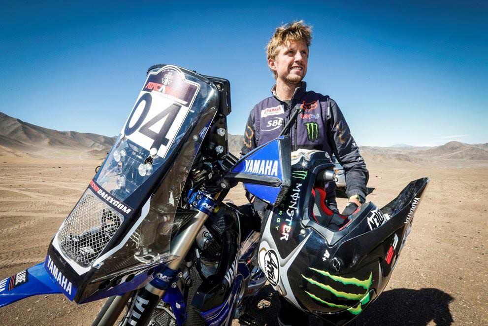 Adrien Van Beveren races Dakar 2020