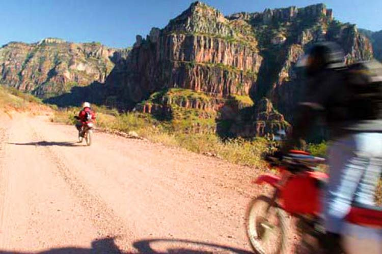 Mexico dual sport motorcycle tour
