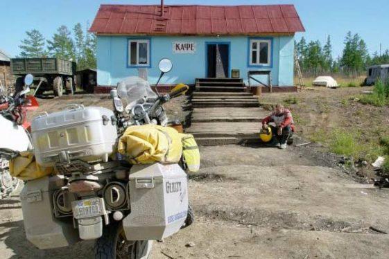 Glen Heggstag round-the-world journey Aventura Motocicleta Riders
