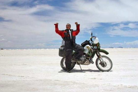 Glen Heggstag round-the-world journey Adventure Motorcycle Riders