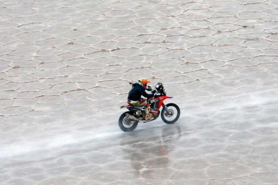 Laia Sanz Dakar Rally woman rider Adventure Motorcycle
