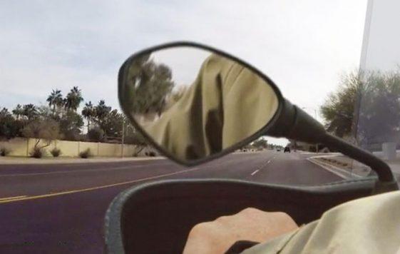 Adventure Motorcycle MirrorLok