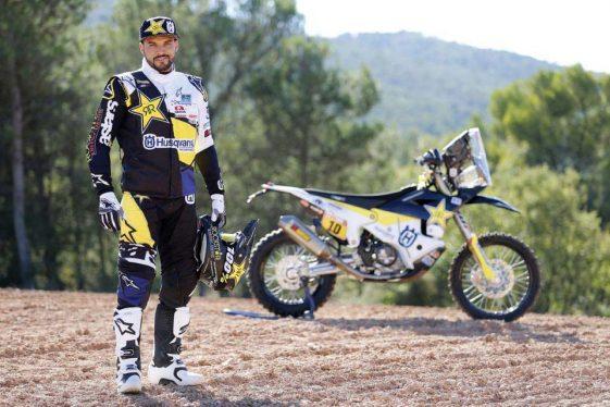 Dual Sport Dakar 2018 Rally Pablo Quintanilla