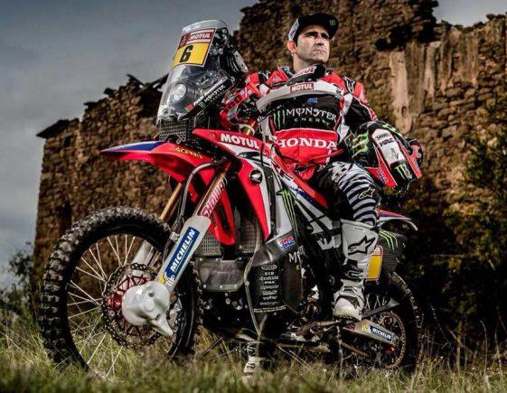 Dual Sport Dakar 2018 Rally Paul Goncalves