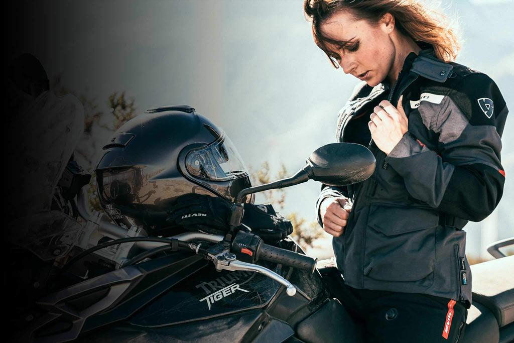 Women Adventure Rider REV'IT Women's ADV Team