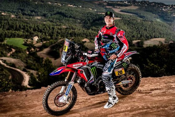 Dual Sport Dakar 2018 Rally Ricky Brabec