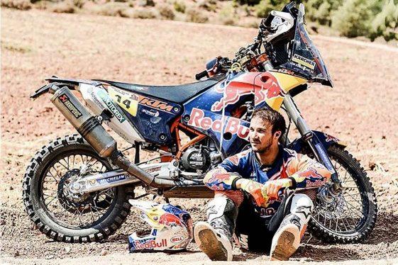 Dual Sport Dakar 2018 Rally Sam Sunderland