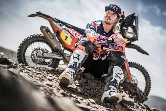 Dual Sport Dakar 2018 Rally Toby Price