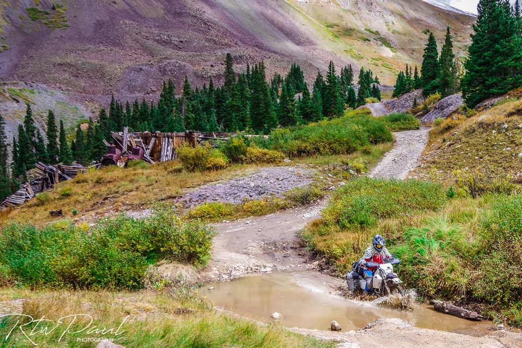 Riding motorcycle around the world Adventure motorcycle