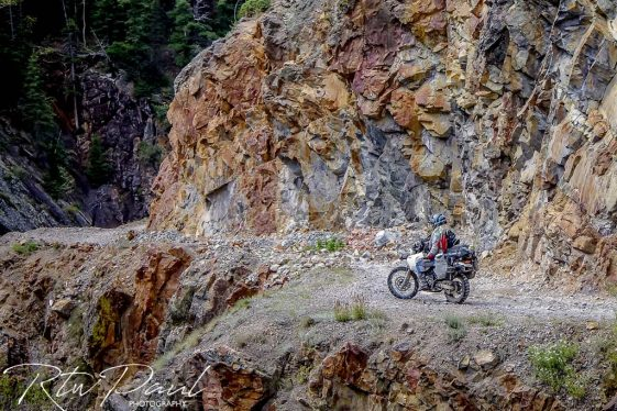 Riding an adventure motorcycle around the world