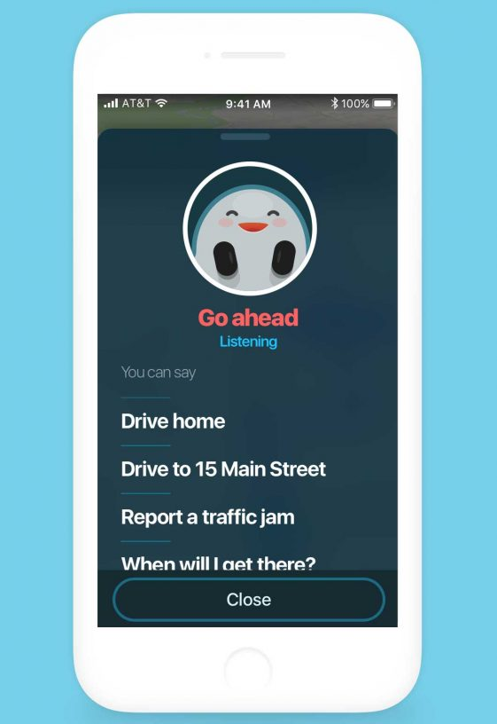 Waze for motorcycles