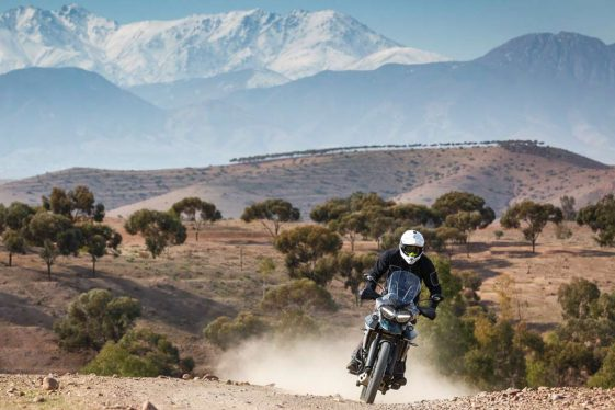 Triumph Tiger 800 XCa Adventure Motorcycle Long Range
