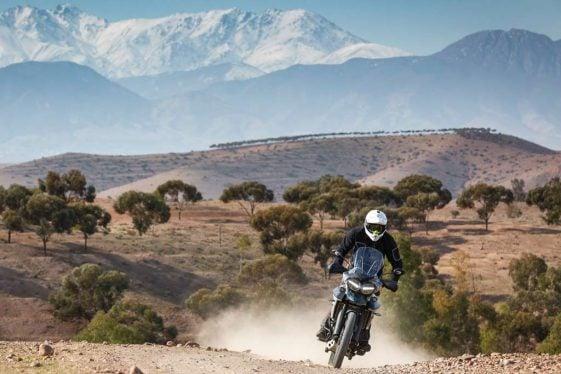 Triumph Tiger 800 XCa Adventure Motorcycle Long Range