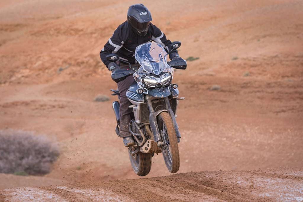 2018 Triumph Tiger XCa offroad Adventure Motorcycle