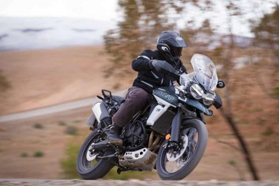 Triumph Tiger 800 XCa Adventure Motorcycle Sporty Ability