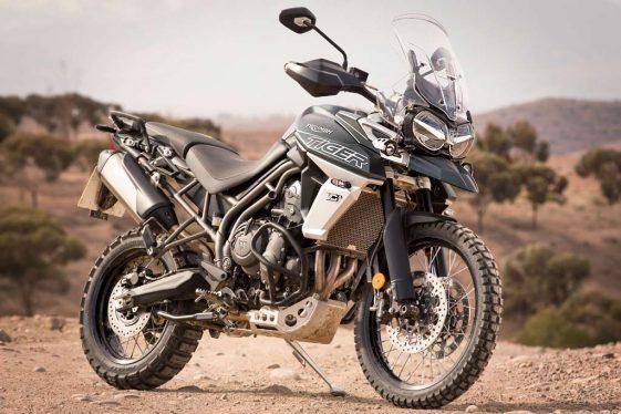 2018 Triumph Tiger XCa offroad Adventure Motorcycle