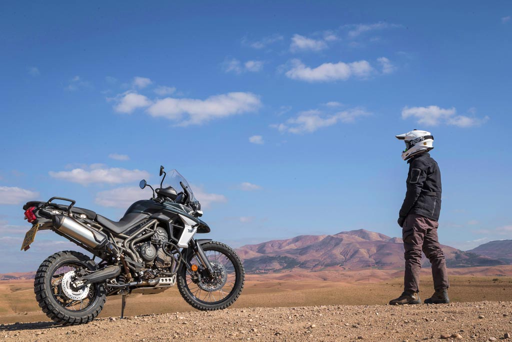 Triumph Tiger 800 XCa Adventure Motorcycle offroad