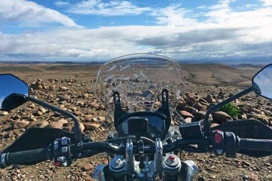 Triumph Tiger 800 XCa Adventure Motorcycle Morocco Press Launch