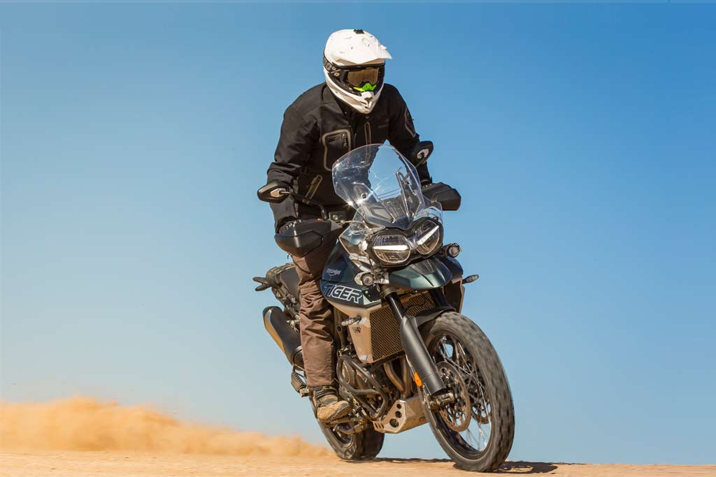 2018 Triumph Tiger XCa offroad Adventure Motorcycle Good for New Riders